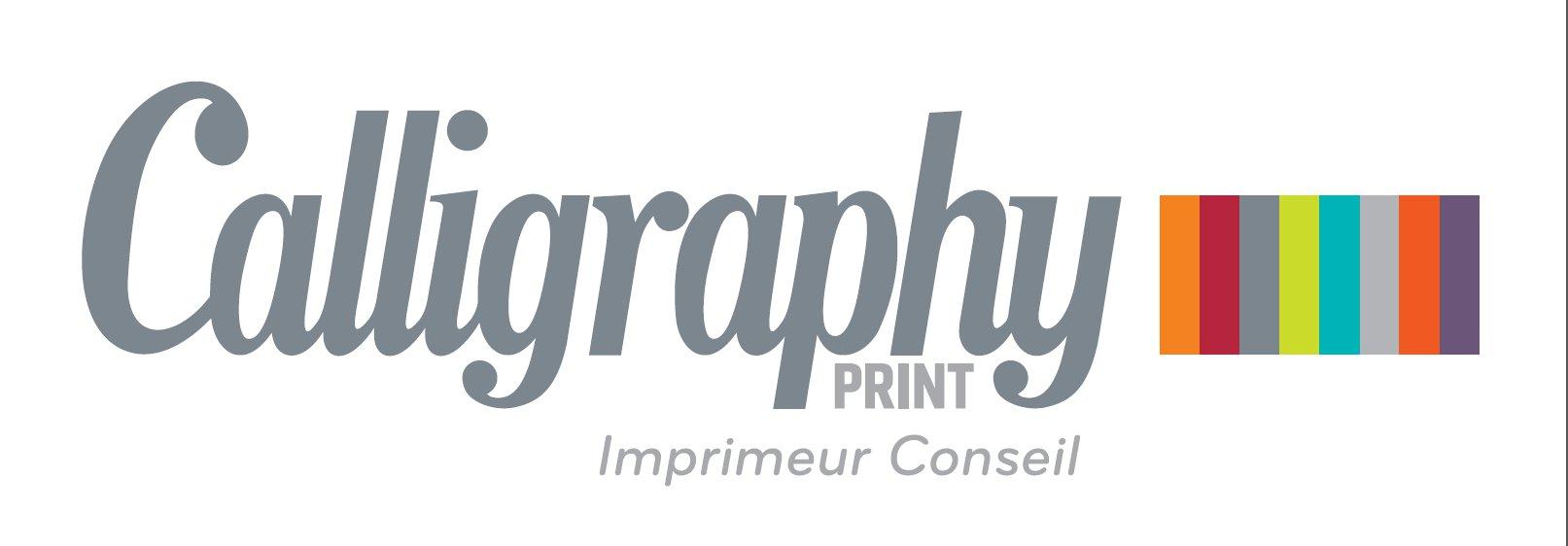logo Calligraphy Print
